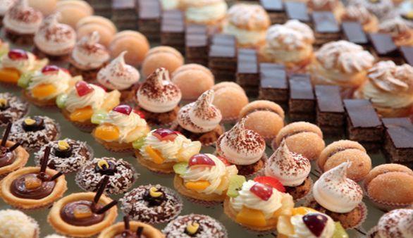 Bäckerei Teilchen