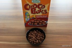 Cornflakevergleich Choco Balls
