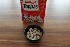 Cornflakevergleich Kelloggs Toppa´s