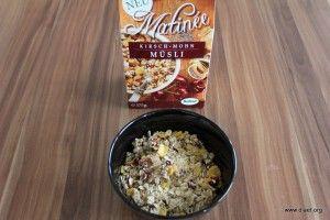 Cornflakevergleich Matinée Kirsch-Mohn-Müsli
