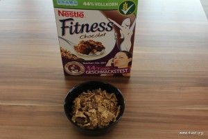 Cornflakevergleich Nestlé Fitness Chocolat