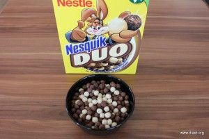 Cornflakevergleich Nestlé Nesquik Duo