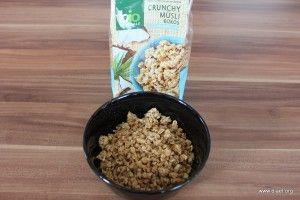 Cornflakevergleich bio-Zentrale Crunchy Müsli Kokos