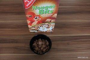 Cornflakevergleich Gut & Günstig Nougat Bits